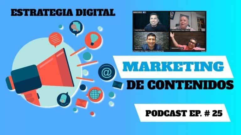 Episodio #25 – Marketing de Contenidos