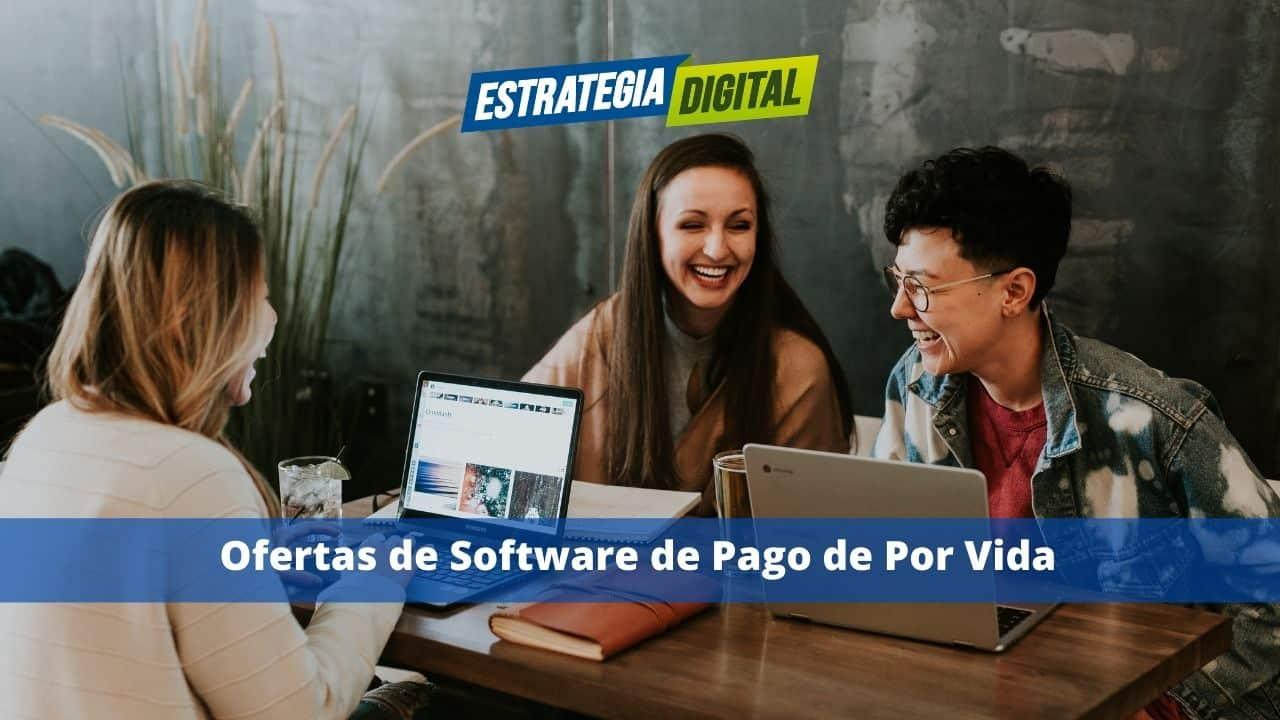 Ofertas de Software de Pago de Por Vida